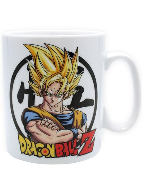 Pack regalo deluxe: taza, llavero, chapas - Dragon Ball  - oficial