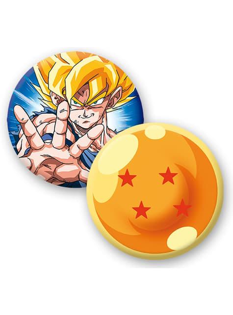 Pack regalo deluxe: taza, llavero, chapas - Dragon Ball  - comprar