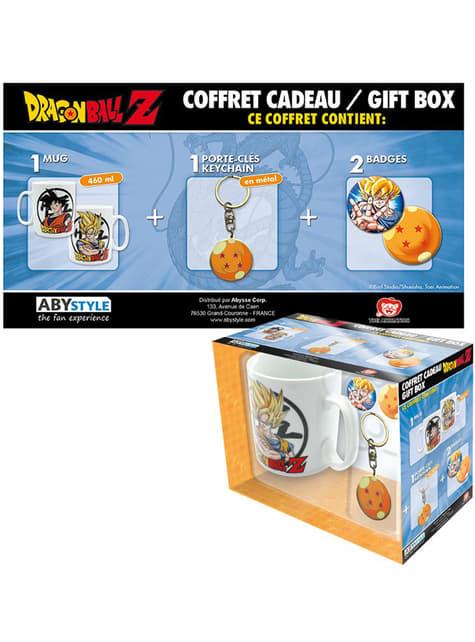 Pack regalo deluxe: taza, llavero, chapas - Dragon Ball  - el más divertido