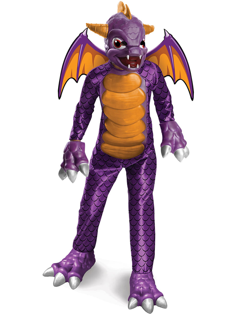 costume de spyro haut de gamme pour enfant skylanders spyro 39 s adventure funidelia. Black Bedroom Furniture Sets. Home Design Ideas