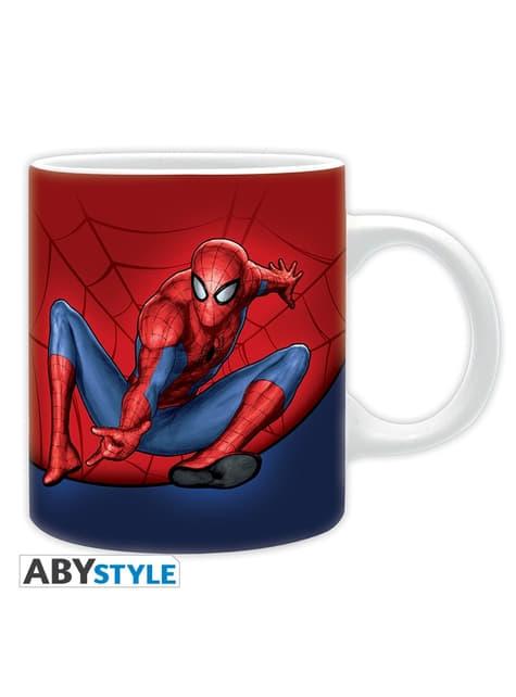 Pack regalo: taza, llavero y stickers - Spiderman