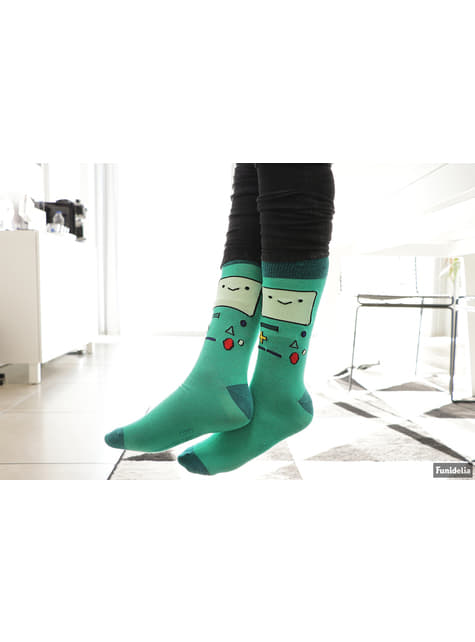 BMO Adventure Time socks for adults