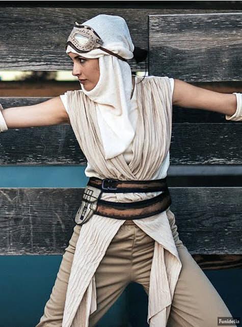 Máscara de Rey Star Wars Episódio VII para mulher