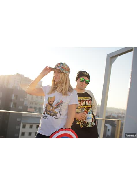 Camiseta de Guardianes de la Galaxia Groot & Tape para mujer - mujer