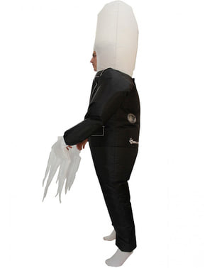 Oppusteligt Slenderman kostume til voksne