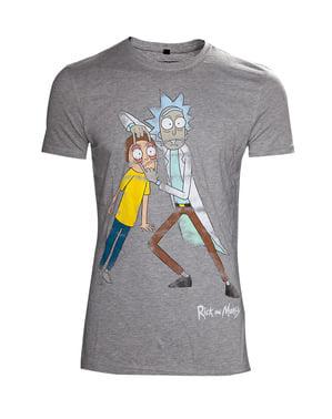 रिक और मोर्टी क्रेज़ी आइज़ पुरुषों के लिए टी-शर्ट