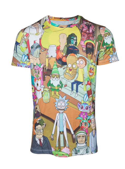 T-shirt Rick et Morty Printer Allover homme