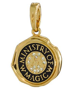 Charm a ciondolo Simbolo del Ministero della Magia Harry Potter