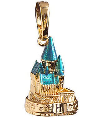 Charm pandantiv Castelul Hogwarts auriu Harry Potter