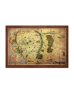 Mappa della Terra di mezzo il Signore degli Anelli