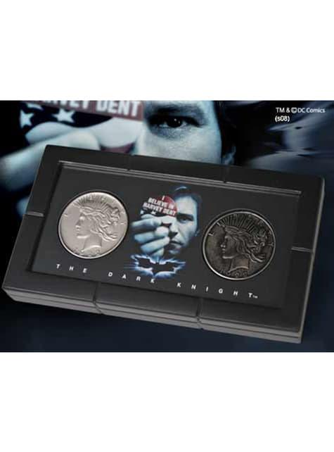 Cofre Monedas Dos Caras Harvey Dent Batman El Caballero Oscuro