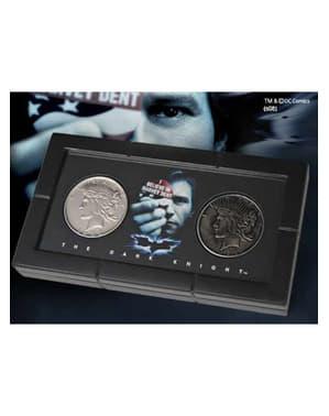 Sada mincí s dvěma tvářemi Harveyho Denta Batman The Dark Knight (Temný rytíř)