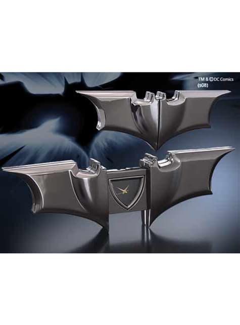 Reloj plegable de Batman réplica de Batarang El Caballero Oscuro