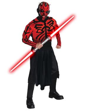 Deluxe muskuløs Darth Maul kostume