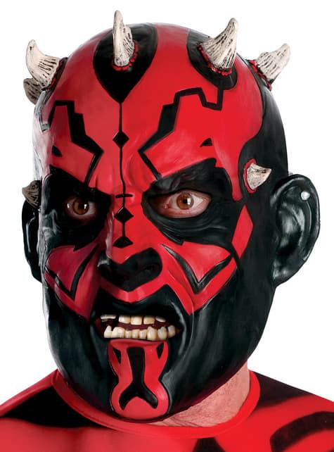 3/4 Maske aus Vinyl von Darth Maul