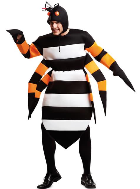 Disfraz de mosquito tigre para adulto