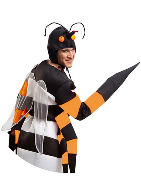 Disfraz de mosquito tigre para adulto - hombre