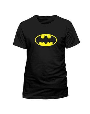 Κοντομάνικη Μπλούζα με το Κλασσικό Λογότυπο του Batman
