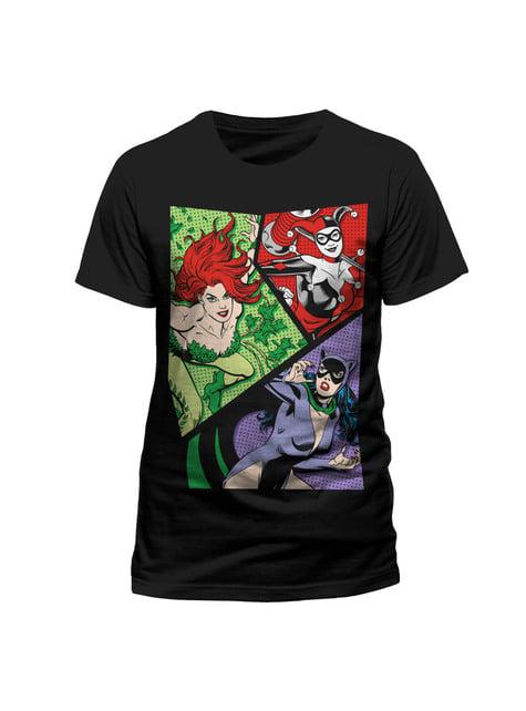 Camiseta de DC Comics Classic Villanesses