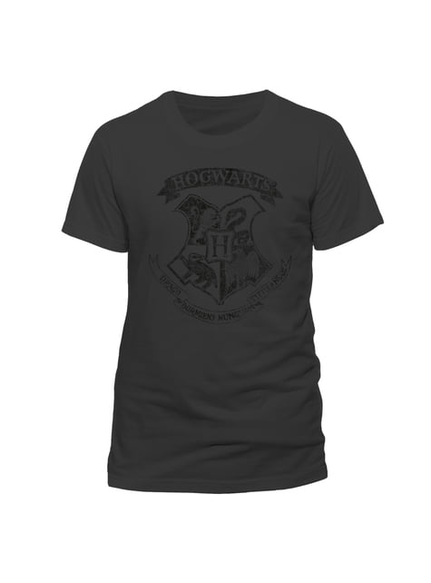 Camiseta de Harry Potter Distressed Hogwarts