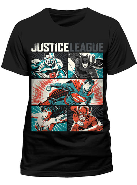 Justice League Pop Art t-shirt