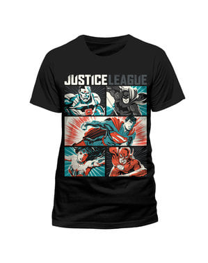 Justice League Pop Art t-skjorte