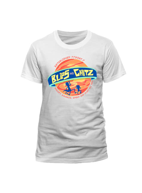 T-shirt Ricky et Morty Blips and Chitz