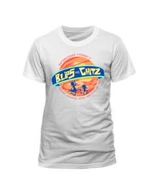 रिक और मोर्टी ब्लिप्स और चिट्ज़ टी-शर्ट