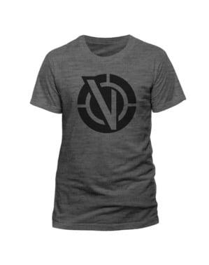 Rick and Morty Vindicators Logo t-skjorte