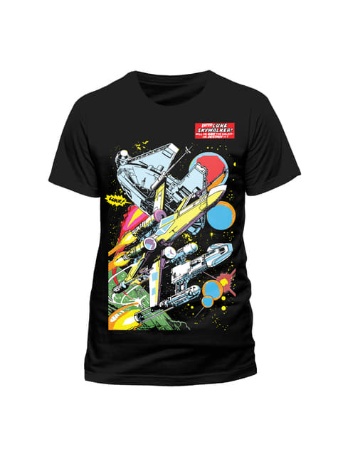 Camiseta de Star Wars Comic Ships