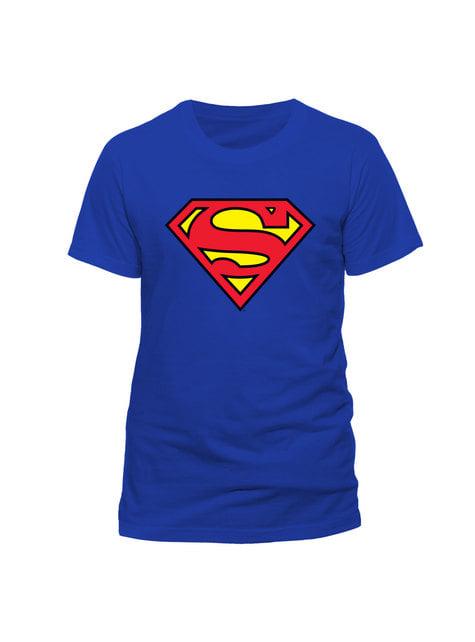 Supermand klassisk logo t-shirt