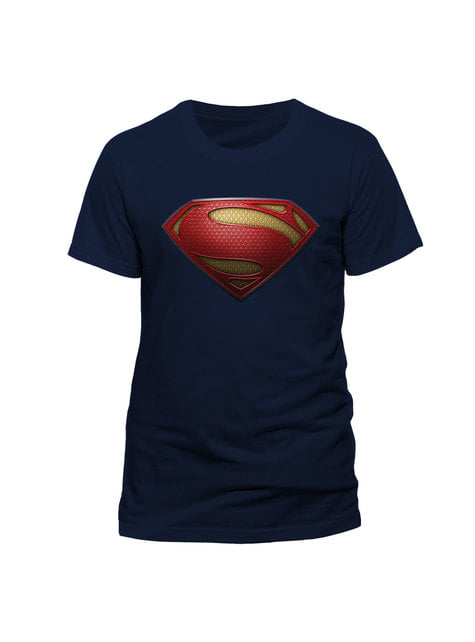 Camiseta de Superman Man of Steel Logo