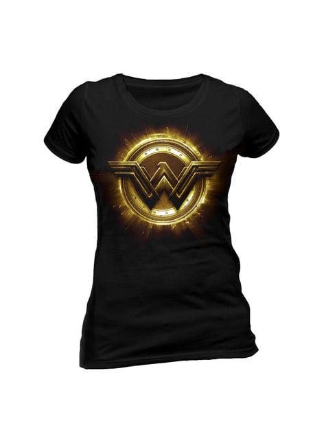 Camiseta de Wonder Woman League Logo para mujer