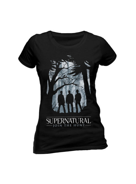 Camiseta de Supernatural Join the Hunt para mujer