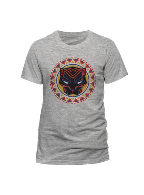 Grey Black Panther Logo t-shirt