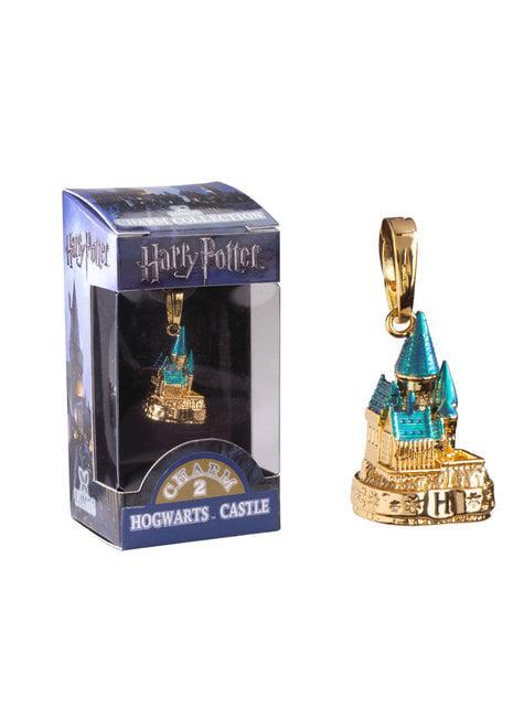 Colgante Castillo de Hogwarts dorado Harry Potter - oficial