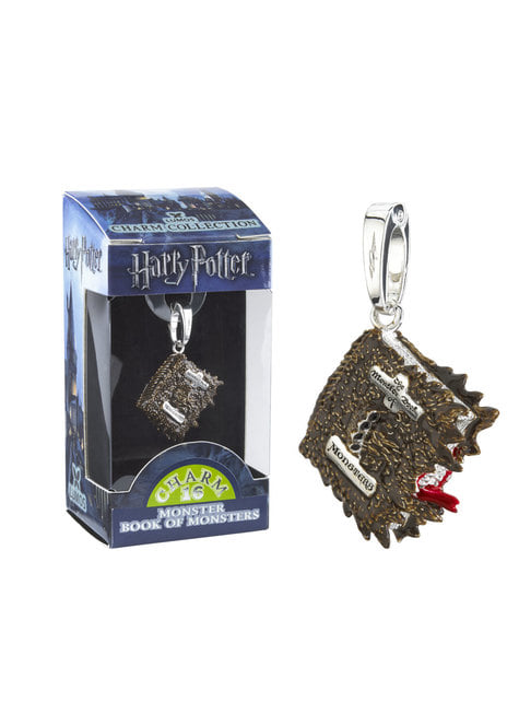 The Monster Book of Monsters pendant Harry Potter