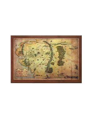 Keski-Maan kartta Taru Sormusten Herrasta