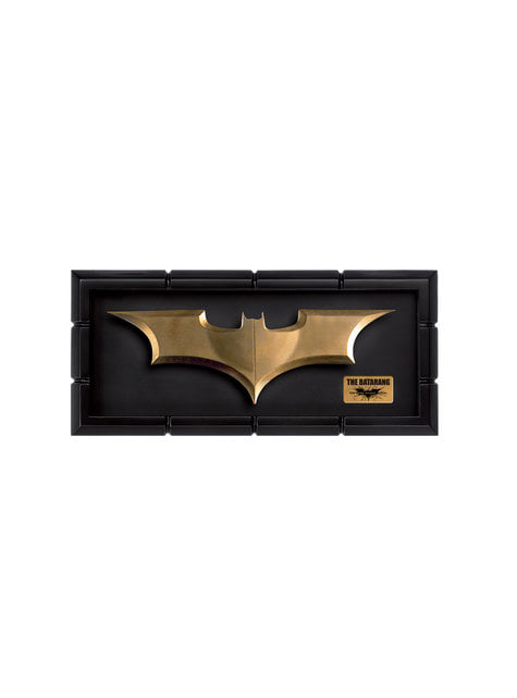 Réplica del Batarang Batman El Caballero Oscuro - oficial