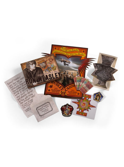 Caja de recuerdos de Ron Weasley Harry Potter