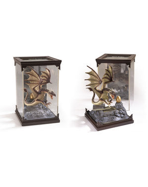 Hungarian Horntail drage figur Harry Potter 19 x 11 cm