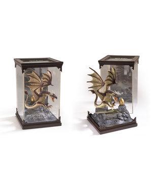 Ungarsk Hornsvans dragefigur Harry Potter 19 x 11 cm