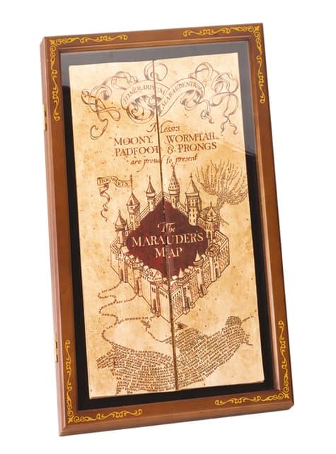 Coffre Carte du Maraudeur - Harry Potter