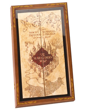 Coffre Carte du Maraudeur - Harry Potter