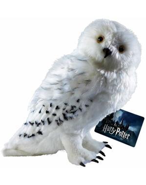 Jucărie de pluș mare Bufnița Hedwig Harry Potter 36 cm