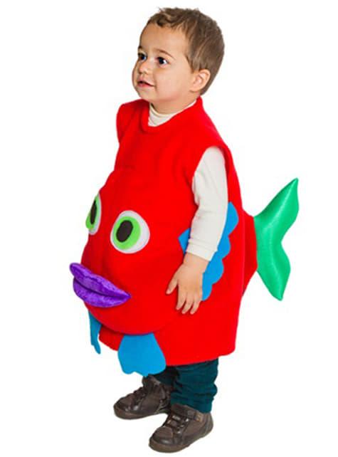 Strój Śliniak z rybą dla dzieci