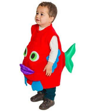 Déguisement plastron poisson pour bébé