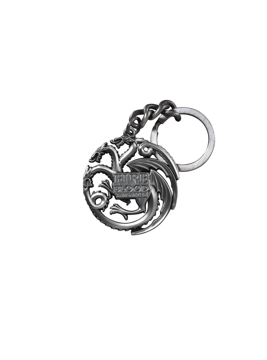 Porte-clés Dragons emblème Targaryen Game of Thrones  officiels ... 2ed96d7df06