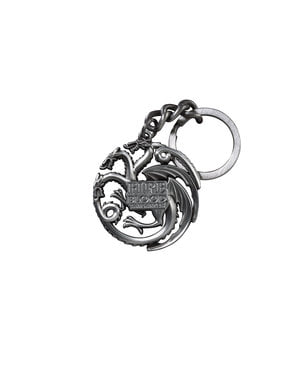 Dragons keyring Targaryen emblem Game of Thrones