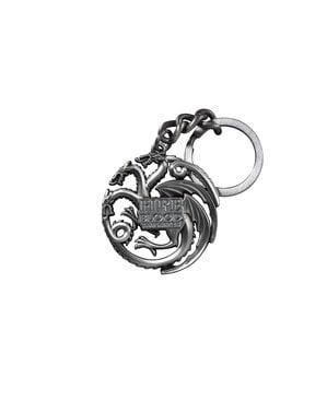 Draken sleutelhanger Targaryen emblem Game of Thrones